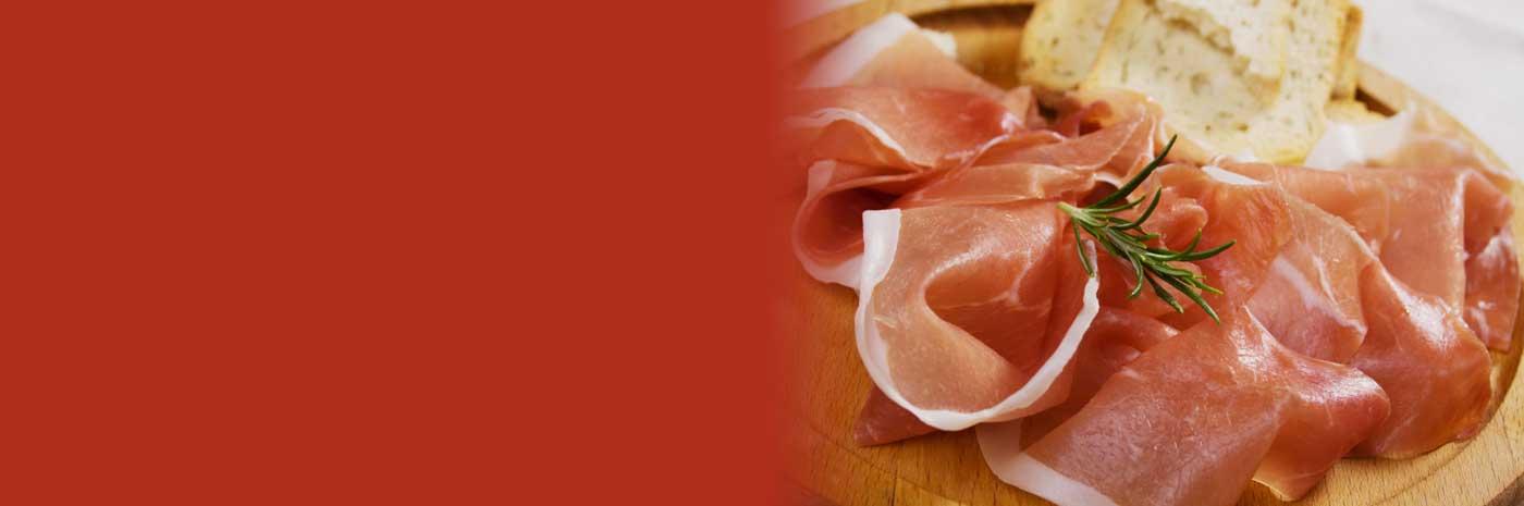 Italian Prosciutto with reduced sodium